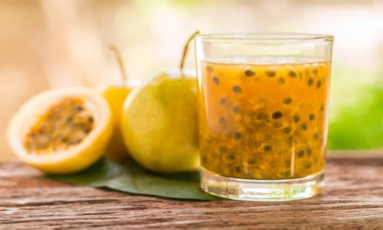Chá de maracujá para eliminar gordura