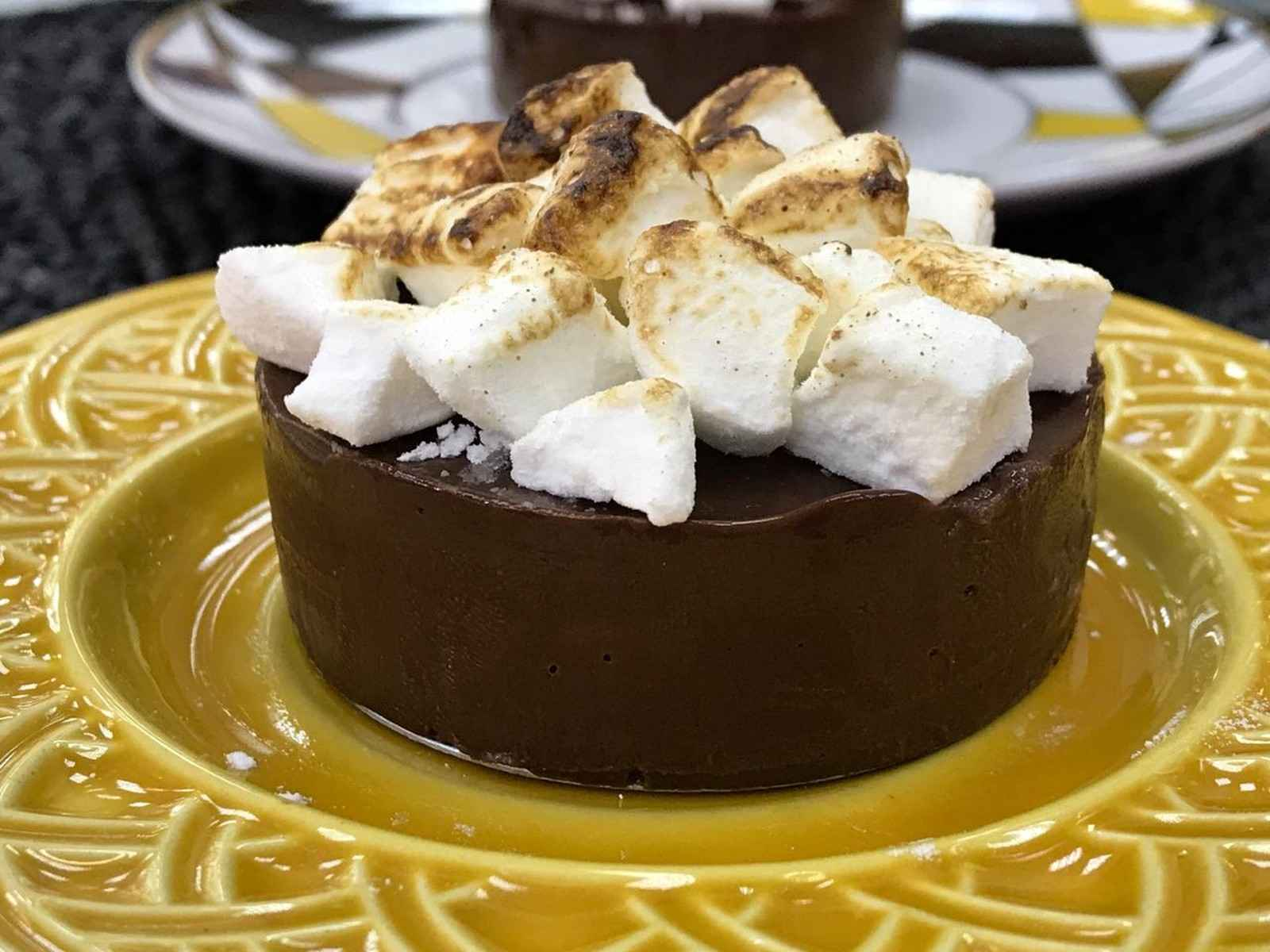 Creme de Chocolate com Mel