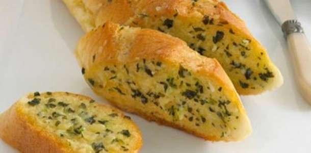 Pão de Alho com Salsinha