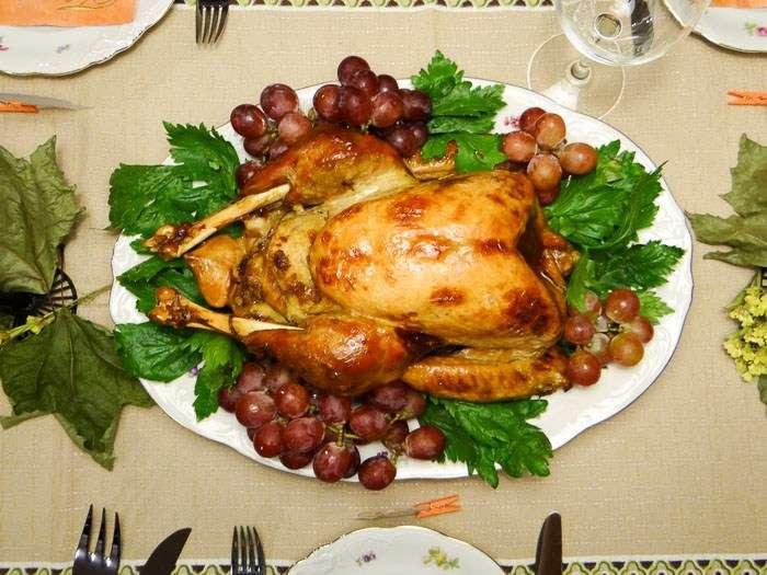 Receita de Peru de Natal Suculento e delicioso