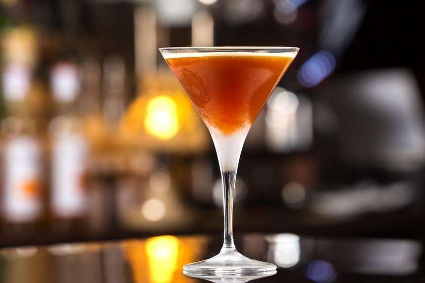 Receita de Safron Martini