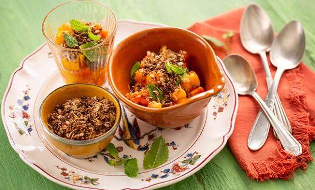 Receita de Salada de duas frutas