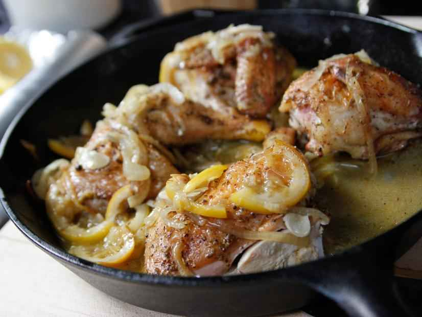 Skillet-Roasted Lemon Chicken