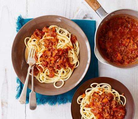 The best spaghetti bolognese recipe