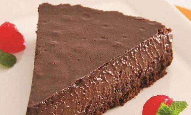Receita de Torta mousse de chocolate Ana Maria Braga