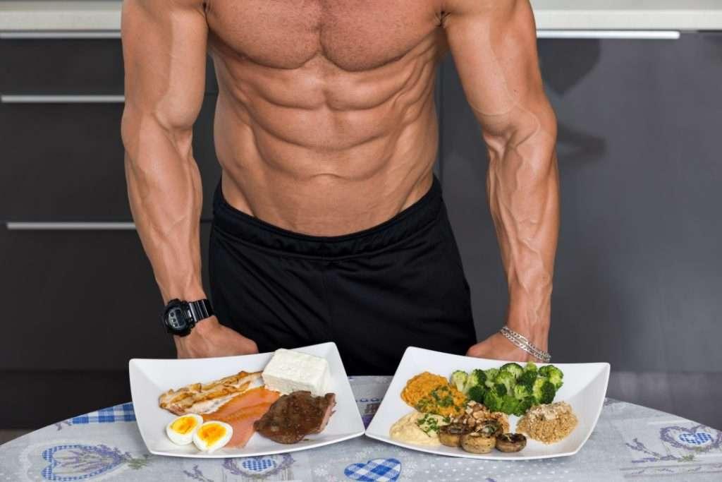 nutrição dieta para ganhar massa muscular