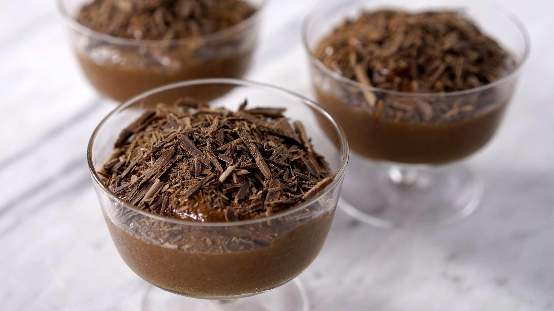 Receita de Mousse de Chocolate Dark Zero Açucar Simples