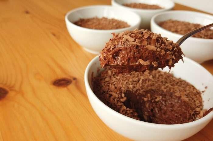 Receita de Mousse de chocolate simples de apenas 15 Min