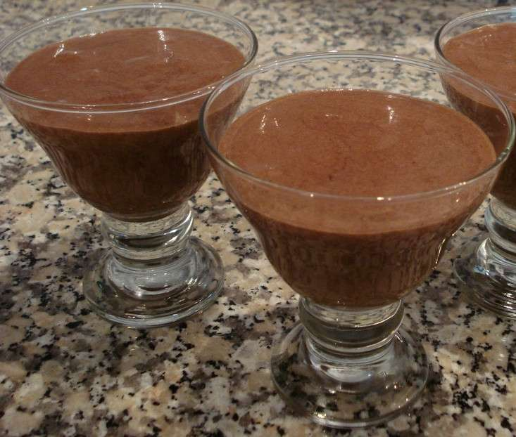 Receita de Mousse de chocolate simples no Copinho