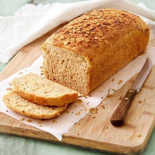 Receita de Pão de fôrma vegano