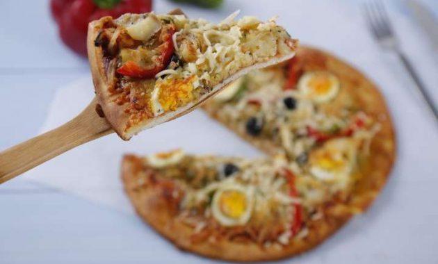 Receita de Pizza Gostosa do Sr. Bacalhau