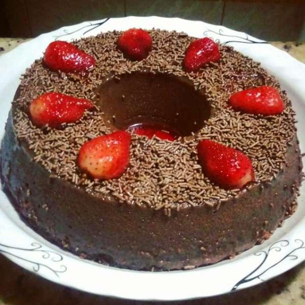 Receita de Pudim de Geladeira Sabor Chocolat