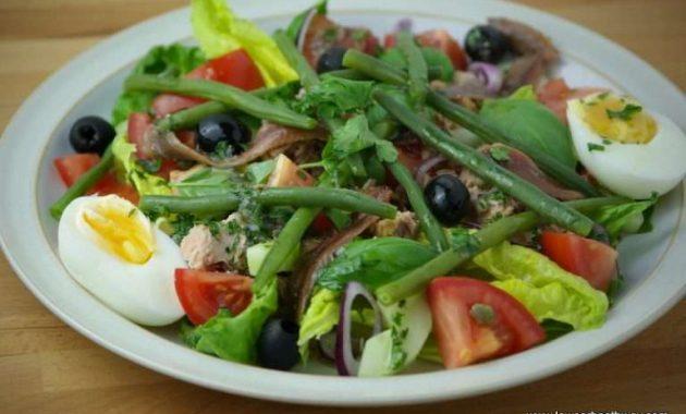 Receita de Salada Low Carb NICOISE