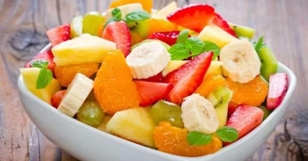 Receita de Salada de Frutas Light