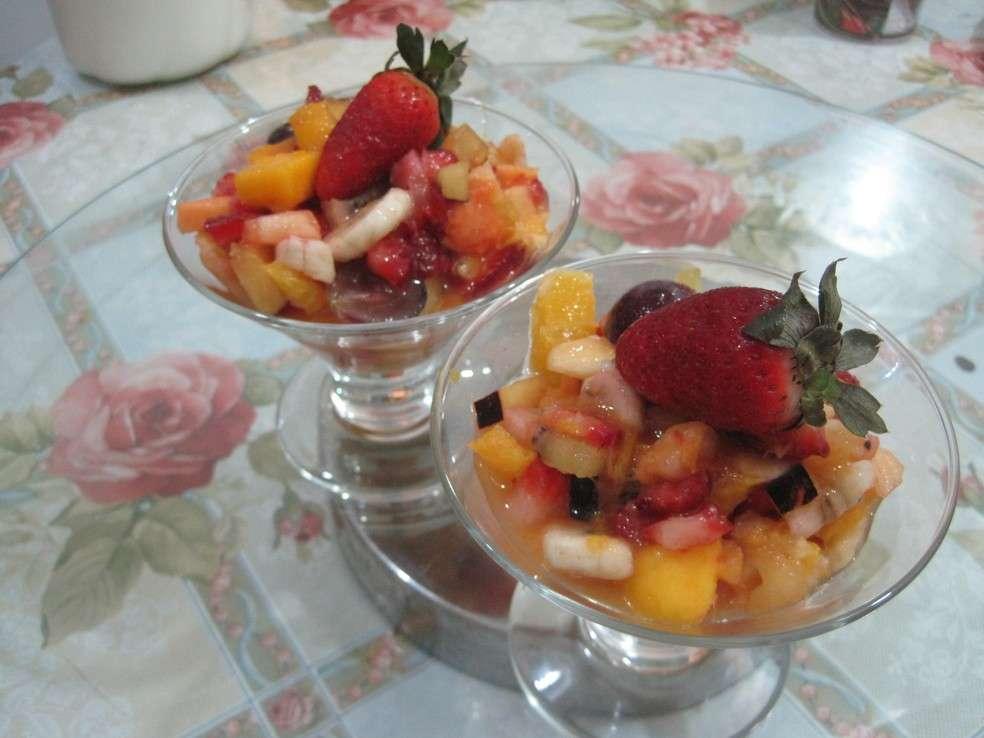 Salada de Frutas Light Fácil Ana Maria