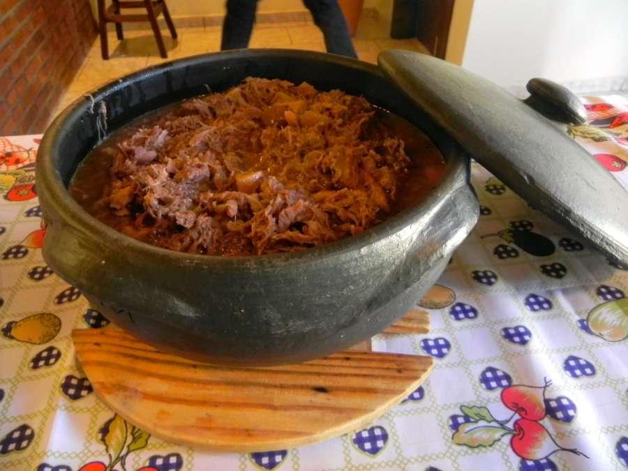 Receita de Barreado de Carne e Linguiça