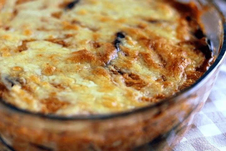 Receita de Lasanha de Berinjela e frango Low Carb