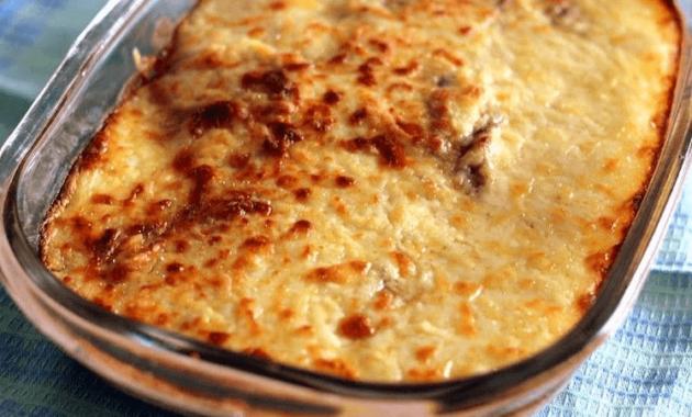 Receita de Lasanha de berinjela e carne moída Low Carb