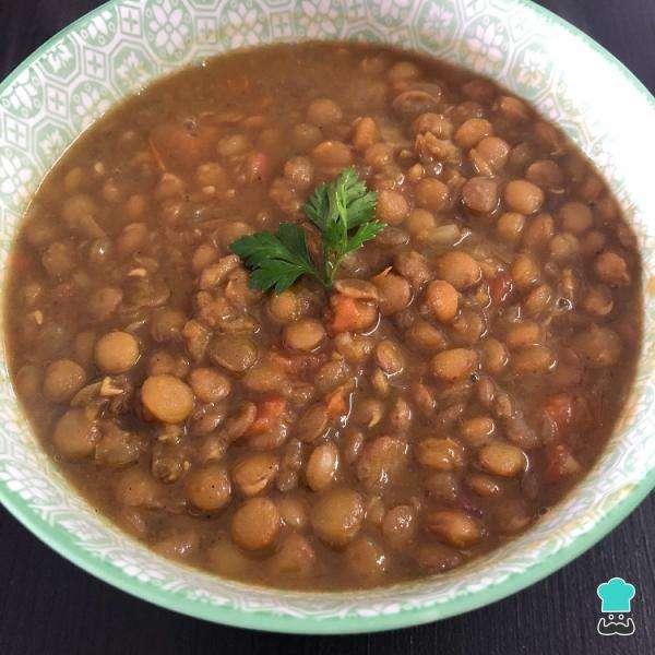 Receita de Lentilha com curry simples e gostosa para Ano Novo