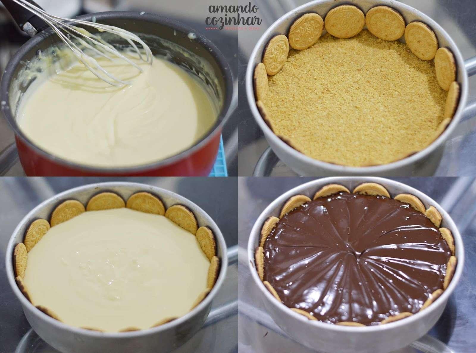 Receita de Torta holandesa Ana Maria Braga