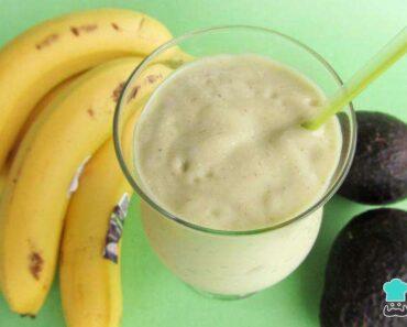 Receita de Vitamina de abacate com banana