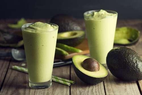 Receita de Vitamina de abacate para perder peso e ganhar massa muscular