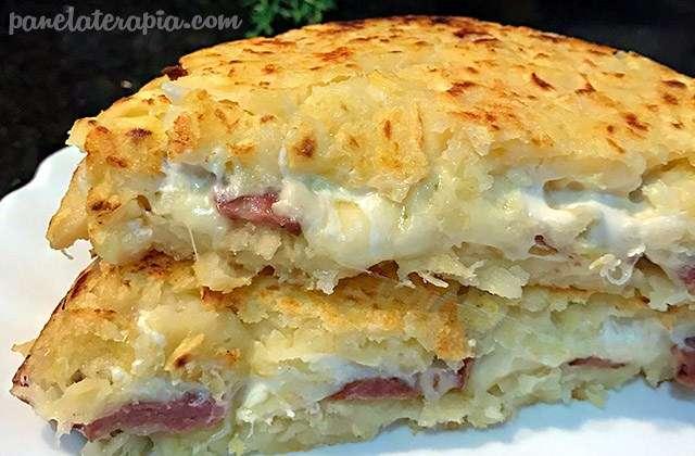 Receita de Batata Rosti Fácil e Deliciosa