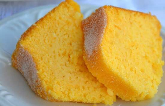 Receita de Bolo de laranja com casca mais Fácil