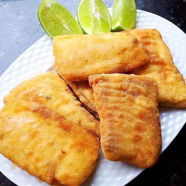 Receita de Filé de Merluza Empanado Frito