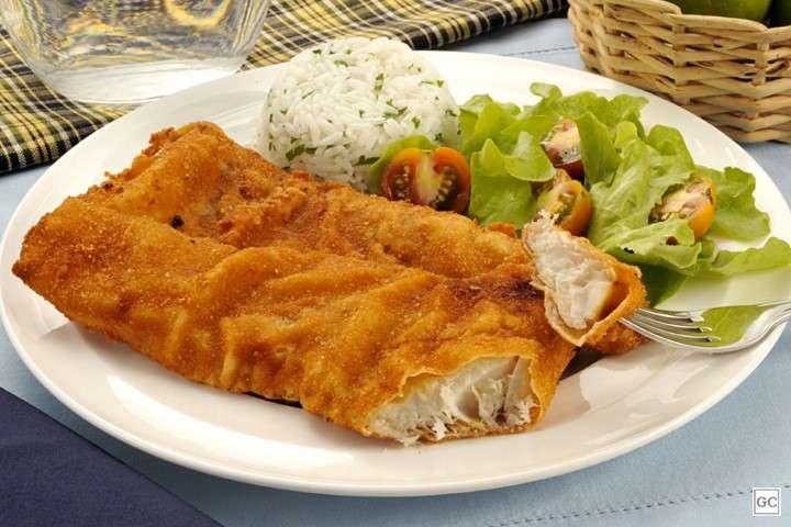 Receita de Filé de peixe Merluza à milanesa Tudo Gostoso