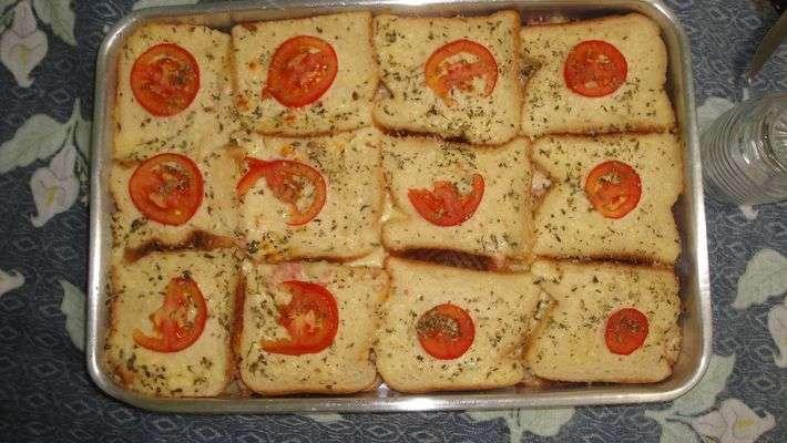 Receita de Lanchão de pão de forma da Nane