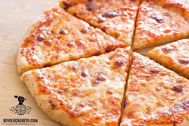 Receita de Pizza Pan Cetogênica