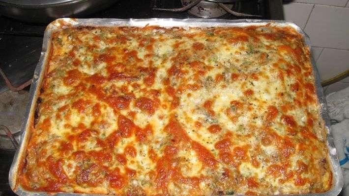 Receita de Pizza Rápida de Sardinha Tudo Gostoso