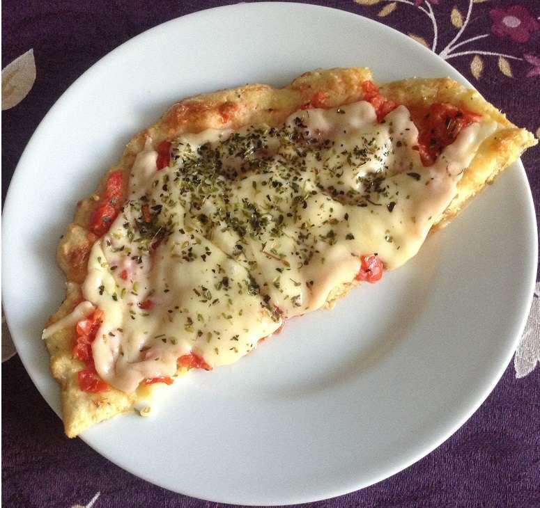 Receita de Pizza de Frigideira Integral Low Carb
