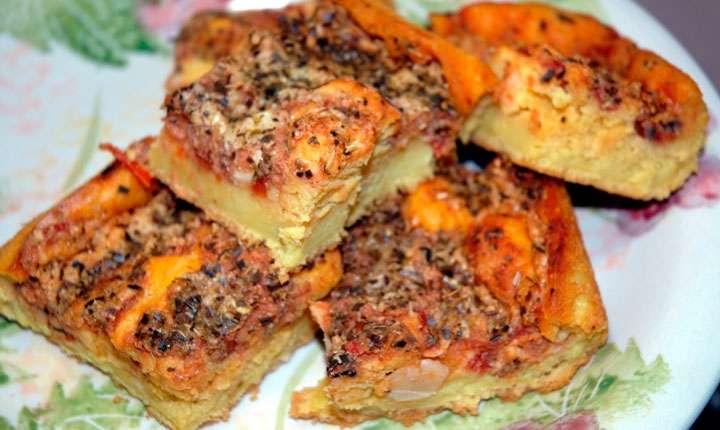 Receita de Pizza de Sardinha Ana Maria Braga