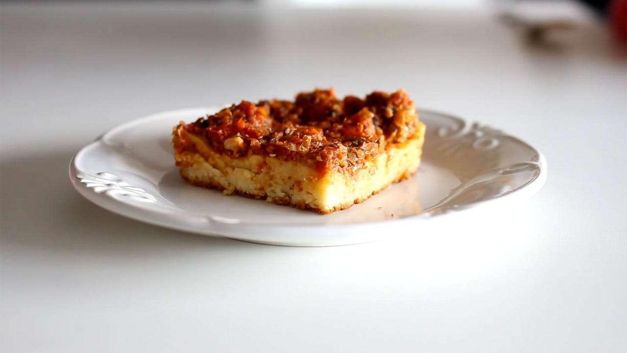 Receita de Pizza de Sardinha da Vovô