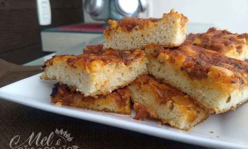 Receita de Pizza de sardinha caseira simples
