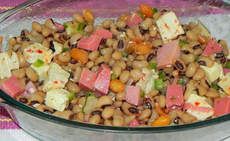 Receita de Salada de Feijão Fradinho Gostoso e Saudável