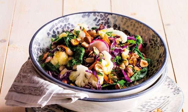 Receita de Salada de feijão frade com atum Diferente
