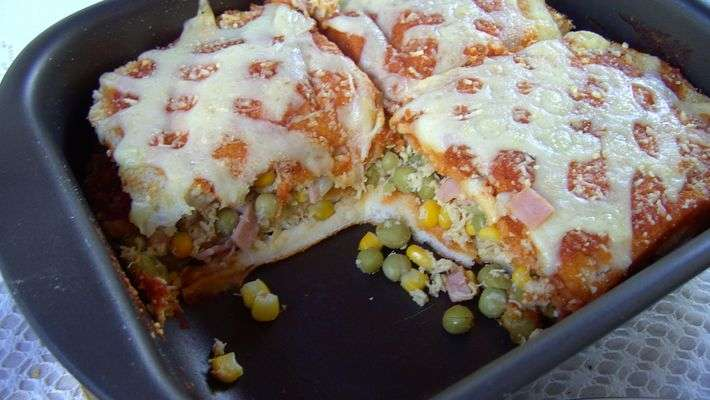 Receita de Sanduíche de forno rápido e delicioso