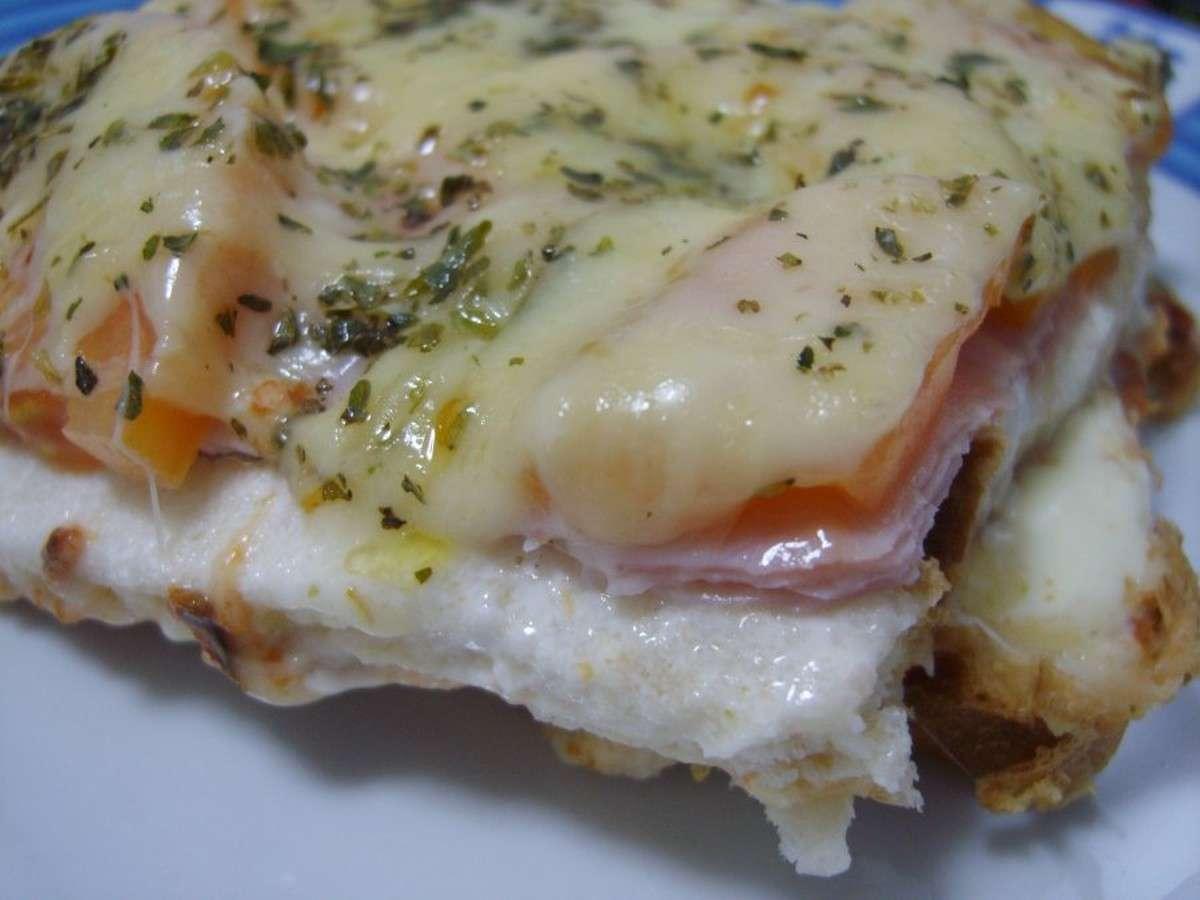 Receita de Sanduiche de forno da Gi
