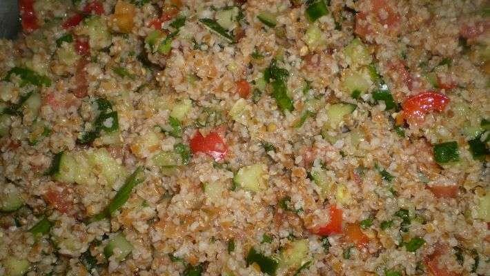 Receita de Tabule (salada árabe) Fácil