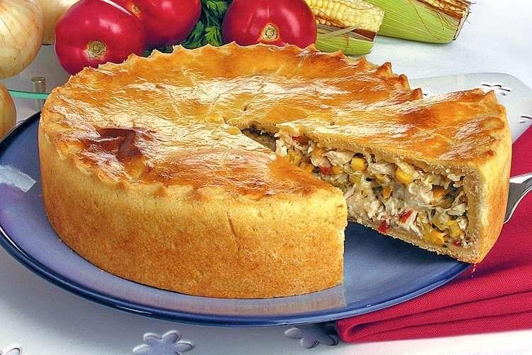 Receita de Torta de frango Na Cozinha