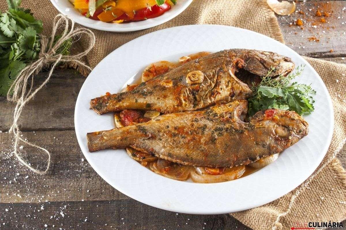 Receita de peixe assado no forno Brasileiro