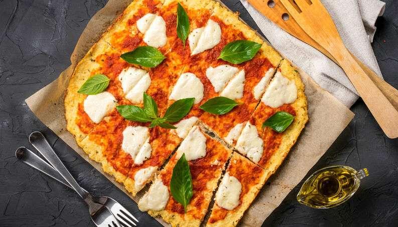 Receita de pizza Low Carb com massavegana