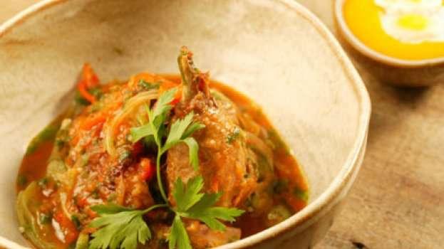 Receita frango caipira com creme de milho em aves