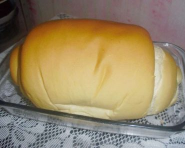 Rceita de Pão caseiro simples