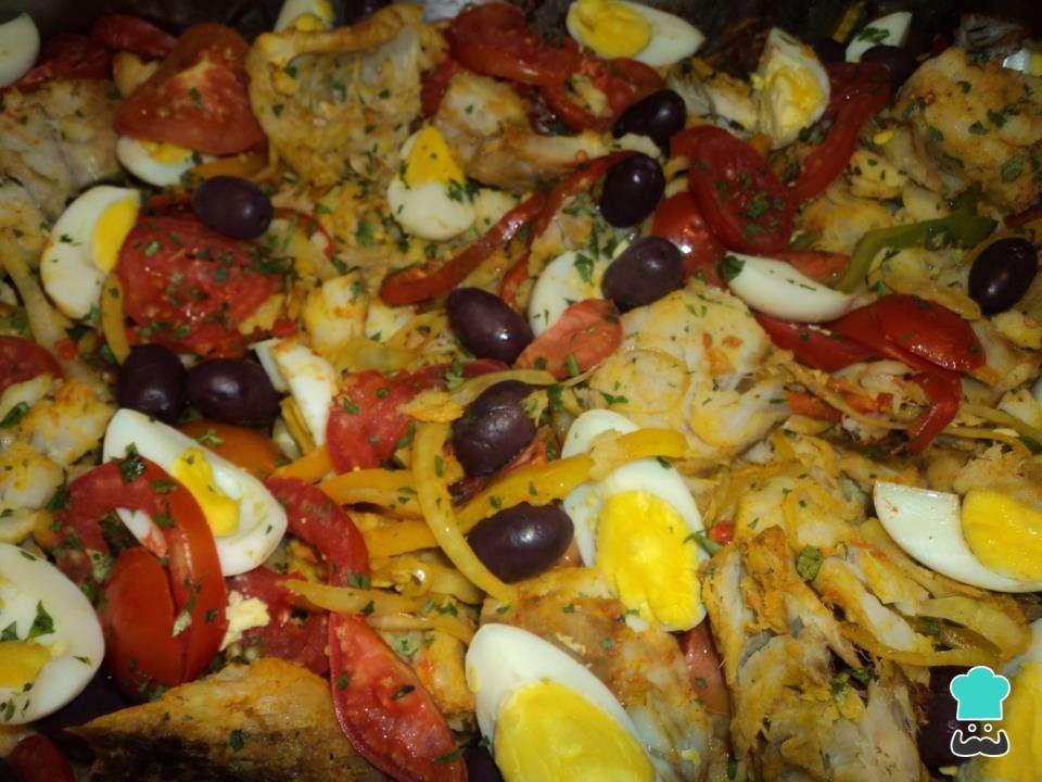 Receita de Bacalhoada tradicional portuguesa