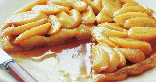 Receita de Bolo de banana caramelizado