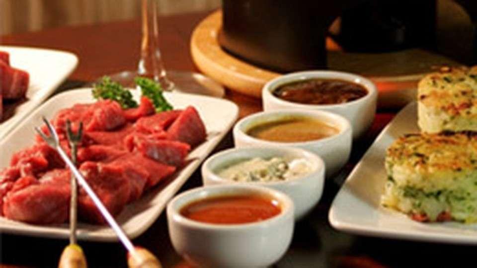 Receita de Fondue de carne e batata rostie